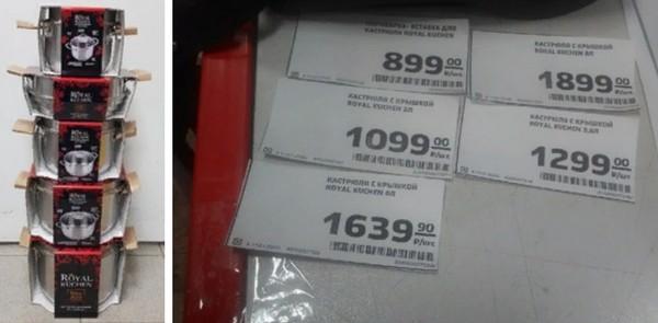 цены на кастрюли